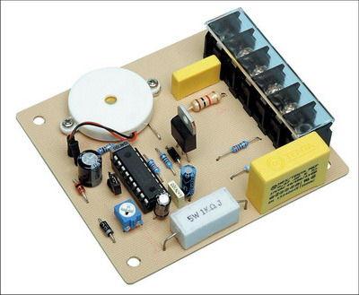PIC16F88 230V Fan Controller Timer Circuit 220v fan zamanlayici