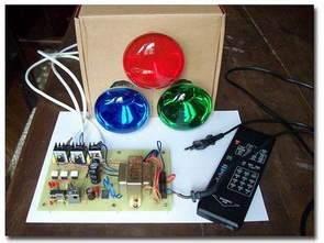 PIC16F827 kiểm soát bị cô lập 220V RGB kiểm soát đèn