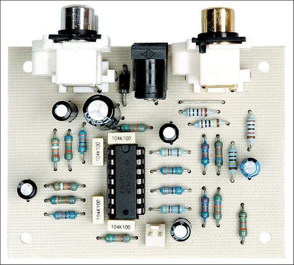 TL074 Bass Extender Circuit Bass Extender