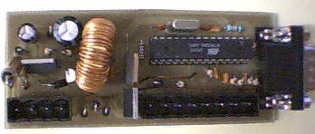 ATmega8 Motorcycle alarm circuit atmega8 p motosiklet alarm