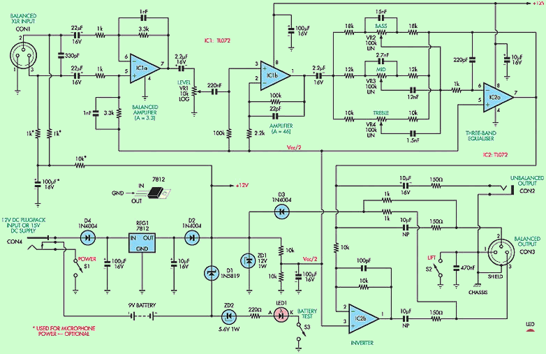 balanced-microphone-preamp-circuit-schematic