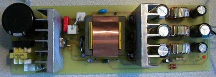 Блок-схема сетевой части импульсного блока питания проиллюстрирован на.