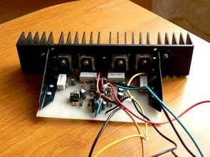 TDA7250 Hi-Fi Sürücü ile 100W Güç Amplifikatörü