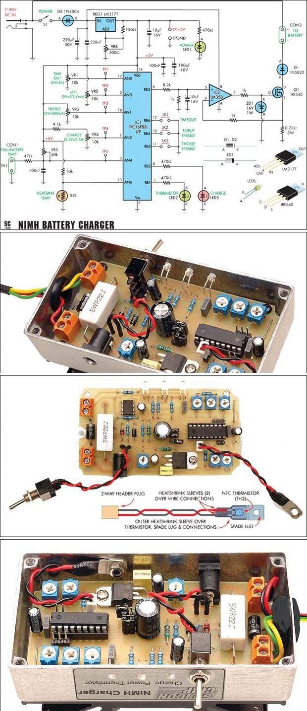 fast-charger-circuit-hizli-sarj-devresi-pic16f88-pil-sarji