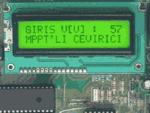 PIC18F452 Fotovoltaik Sistemler için MPPT Konvertör