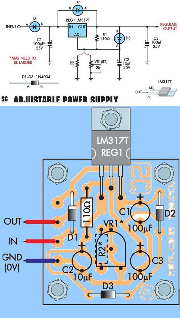 guc-kaynagi-lm317t-regule-power-supply-lm317t