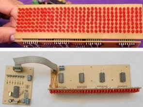 PIC16F628A ile Matrix 7X32 Led Yazı Panosu