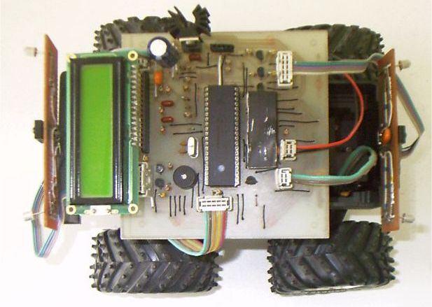 lcd-robot-model-maket-araba-robotic