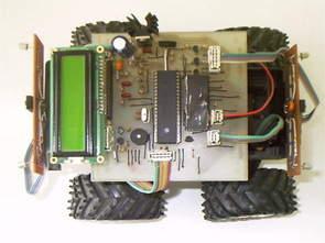 PIC16F877 ile Cisim Algılayan Kumandalı Mobil Robot