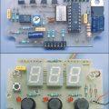 PIC16F84A Display Göstergeli Elektronik Oto Hız Alarm