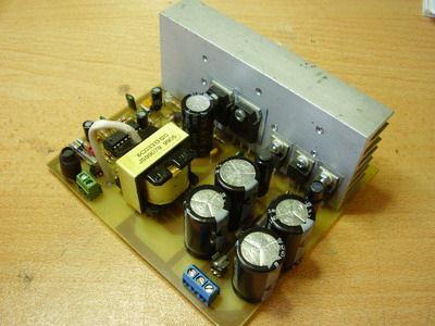 TL494 2X32 Volt car amplifier için SMPS Besleme