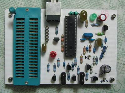 USB PIC lập trình viên dsPIC Brenner 8 với PIC18F2550SP