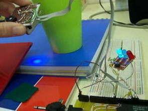 PIC16F877 Renk Algılayıcı