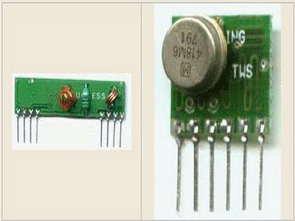 PIC16F628A thử nghiệm Atx Arx thu phát mô-đun