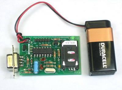Smart Sim GSM Kart Okuma Kopyalama Devresi