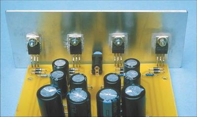 Simple Symmetric Power Supply Circuit with LM317T LM337T simetrik guc kaynagi