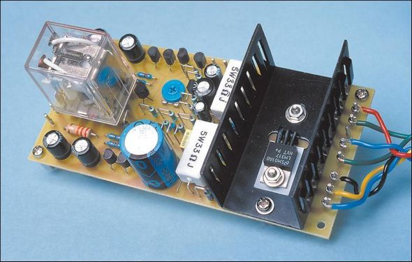 Speaker Protection and Fan Control Circuit  speaker protection circuit