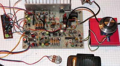 80M Transceiver SSB CW LA1185 transceiver ssb cw qrp range