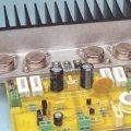 Plastik ve metal kılıf transistörlü 50 watt rms hifi anfi
