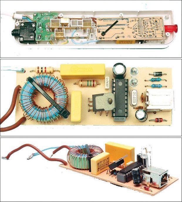 điều khiển từ xa-dimer PIC16F628-mạch-board-to-auto-đèn-mờ