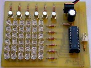 PIC16F628 PICBASIC 36 Led Matrix