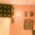 3X4 Keypad Kontrollü 5X7 Dot Matris Led Kayan Yazı