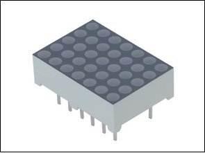 AT89C51RC2 5X7 Led Matrix Uygulaması
