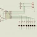 PIC16F84A İle 4 Programlı 8 Ledli Animasyon Devresi