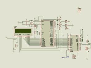 AT89S52 ADC0808 ile Renk Algılayıcı Devresi