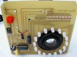 Fotoğraf Makinası için Beyaz Ledler ile Aydınlatma