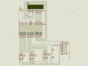 AT89C51RC2 ile 2X16 Lcd Göstergeli Frekansmetre