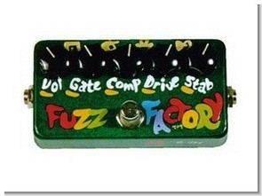 Gitar için Fuzz Factor Efekt Devresi