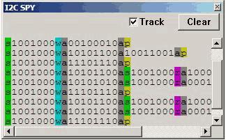 i2c spy adres komut data
