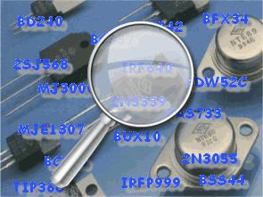 Komponent Karşılık Programı ve Transistör Database