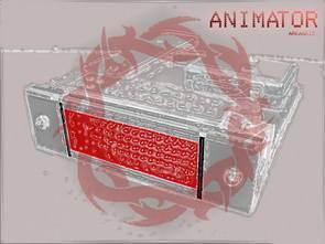 AT90S2313 ile PC Bağlantılı Led Animasyon Devresi
