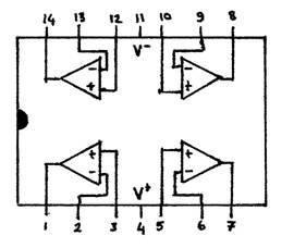 LM 324 op-amp