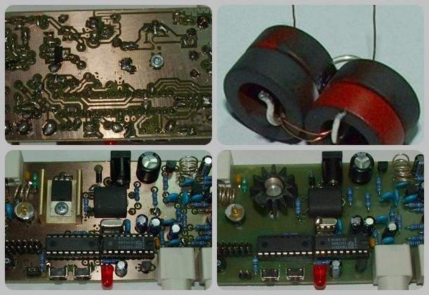 TSA5511 5W PLL FM Transmitter PIC16F627A microcontroller pll circuit lcd pll fm
