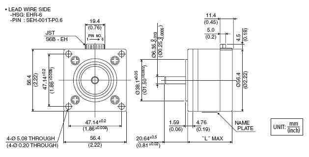 minebea unipolar motor