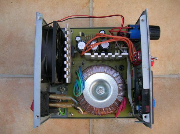 2.5v   27.5v 2Amp Laboratory Power Supply Circuit mosfet power supply zasilacz