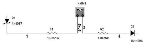 multisim Multimetre ampermetre