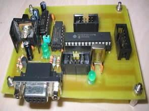 PIC16F876 Programlama ve Test Kartı
