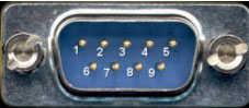 RS232 Pin Uçları Görünümü