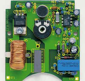 230V 300W Lamp Sound Control tic206d alkis ile lamba yak triyak kontrol