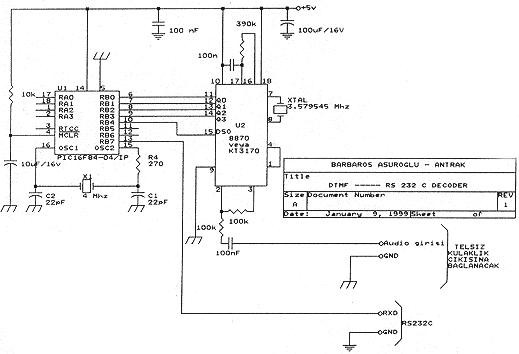 16f84-dtmf