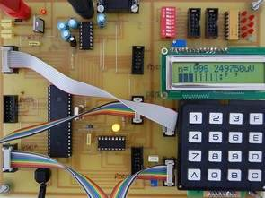 Atmel Atmega32 Test Bench Card