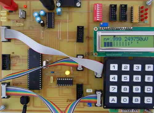 Atmel Atmega32 Testing, Experiment Board development bord atmega32