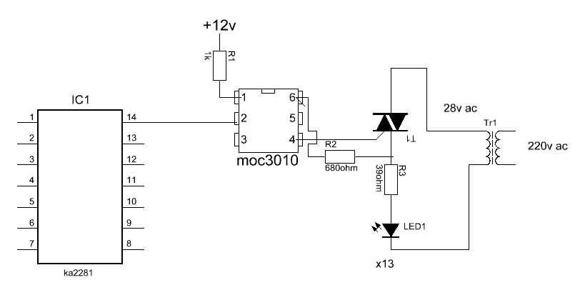 smdchip  stereo with 520 led vu meter circuit ka2281
