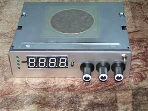 PC İçin 4 Sensörlü Termometre 3 Kanal Fan Hız Kontrol