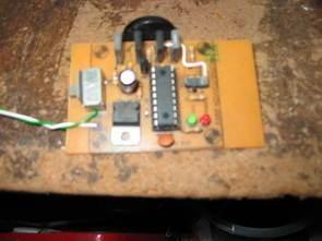 PIC16F627 Ultrasonik Kedi Köpek Kovucu Devresi