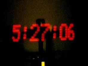 POV Saat (ledler ile rakamları havada görüntüleme)
